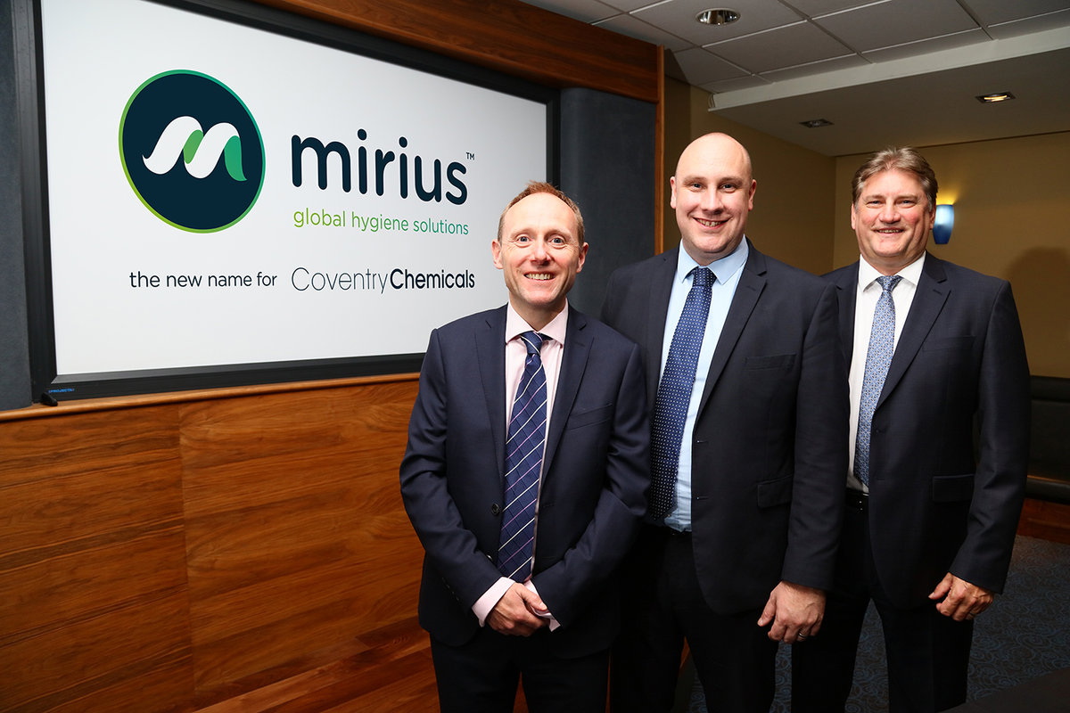 Coventry Chemicals rebrand after major growth