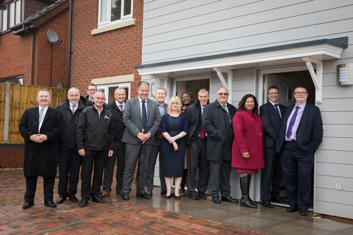 39 properties built in Cannock Chase District using Unlocking Stalled Housing Fund